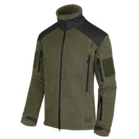 Fleece jacket Helikon Liberty green