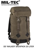Mil-tec OD ′Walker′ Backpack 20 Liter