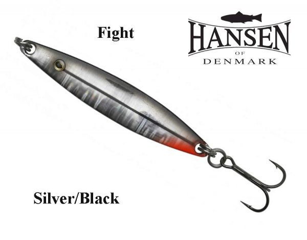 Hansen Fight blizgės Silver/Black