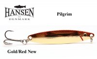Hansen Pilgrim blizgė Gold Red new