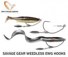 Kabliukai Savage Gear Weedless EWG
