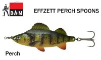 Blizgė DAM Effzett Perch Spoon Perch
