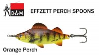 Blizgė DAM Effzett Perch Spoon Orange Perch