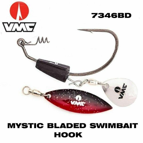 VMC 7346BD mystic Bladed Swimbait крючок Black Nickel