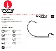 VMC 7348WG mystic Heavy Duty Wide Gap kabliukas Black Nickel