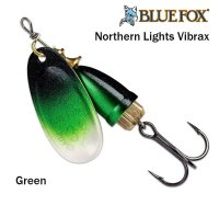 Sukriukė Blue Fox Northern Lights Vibrax Green