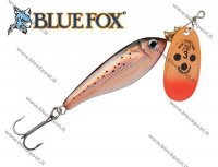 Sukriūkė Blue Fox Minnow Super Vibrax Copper