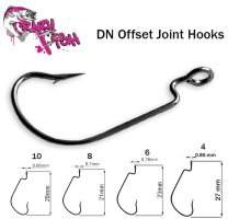 Офсетный крючок Crazy Fish DN Offset Joint DNOJH