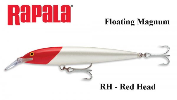 Воблер Rapala Floating Magnum Red Head