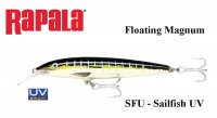 Воблер Rapala Floating Magnum Sailfish UV