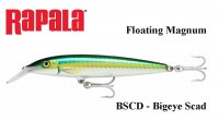 Vobleris Rapala Floating Magnum Big Eye Scad