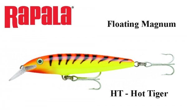 Rapala Floating Magnum Hot Tiger