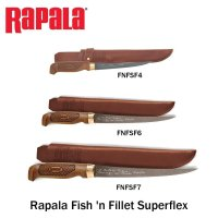 Нож Rapala Fish 'n Fillet Superflex FNFSF4