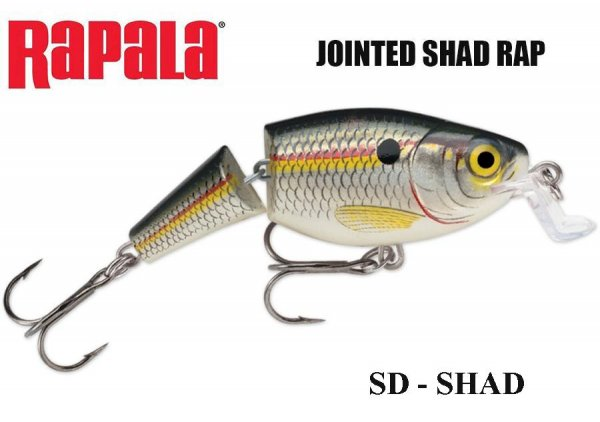 Vobleris Jointed Shallow Shad Rap SD