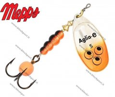 Mepps Aglia-E Orange Brite