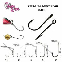 Крючок Crazy Fish Micro Jig Joint MJJH