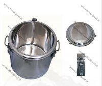 Stainless steel thermos for food capacity 22 L