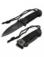 MIL-TEC DA35 BLACK POCKET KNIFE 15344502