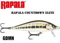 Воблер Rapala CountDown Elite GDMN