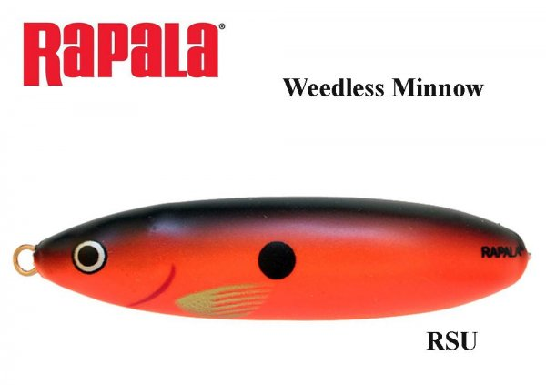 Rapala Weedless Minnow Spoon RSU