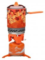 The compact gas stove Fire-Maple FMS-X2 (orange)