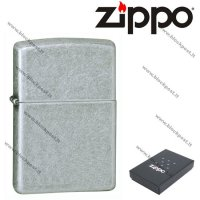 Zippo windproof lighter Antique Silver Plate 121FB
